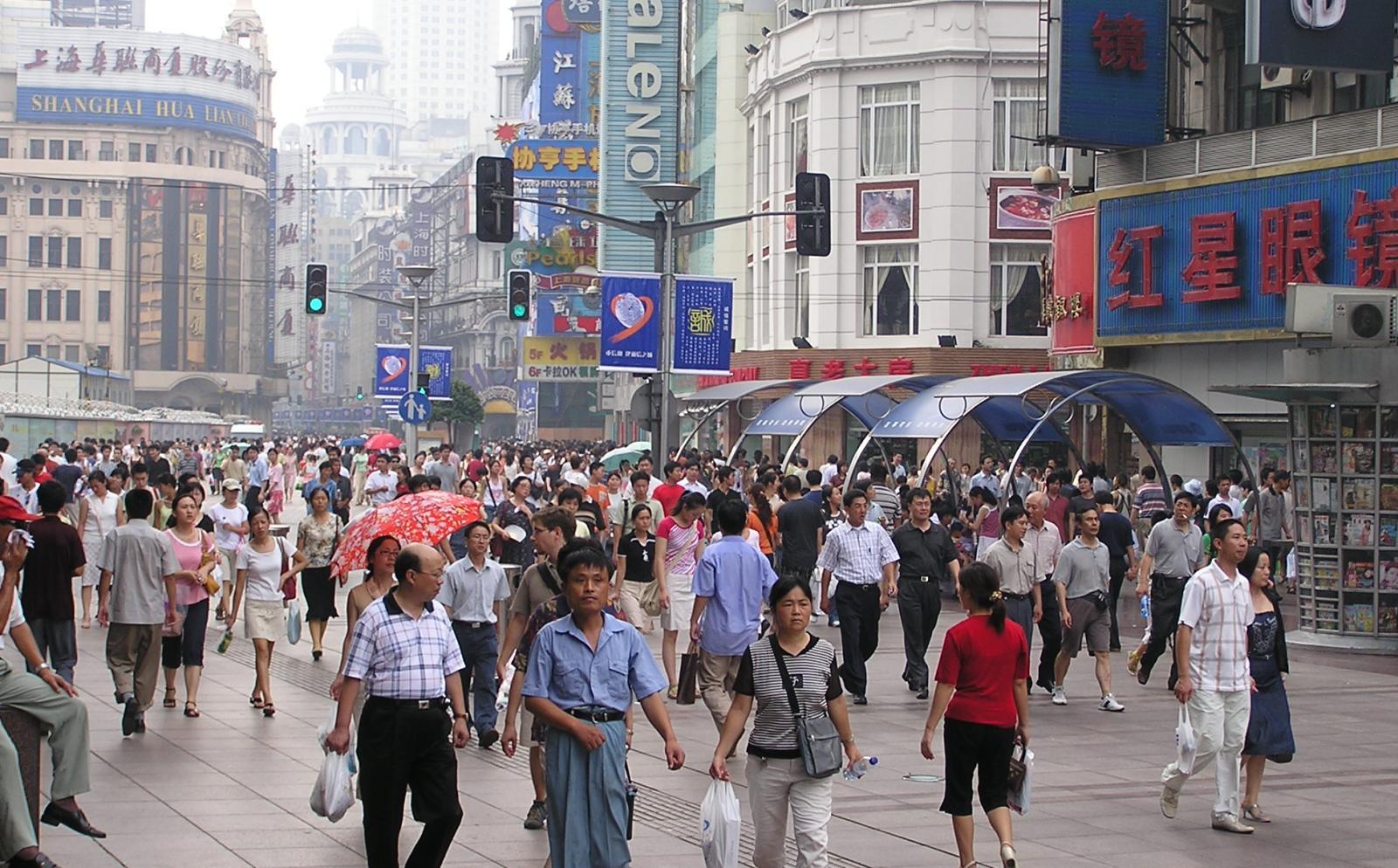 中国の海外ボランティア拠点上海の街並み